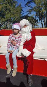Santa Claus Visits Anna Maria