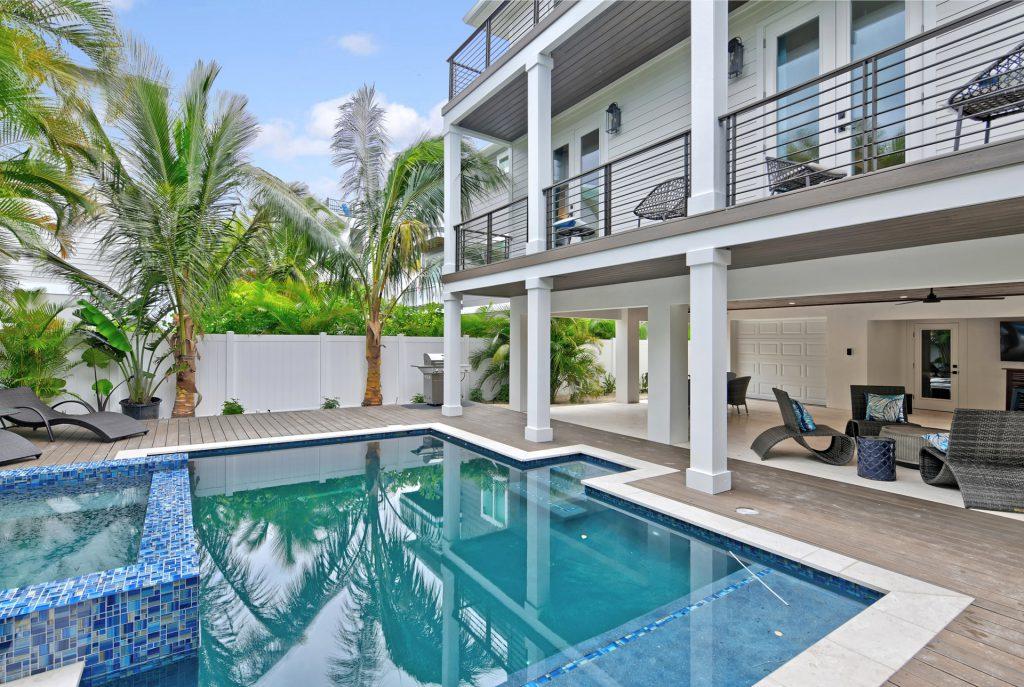 Crystal Waves Oasis 7 bed 7 baths Anna Maria Island FL luxury vacation rental home